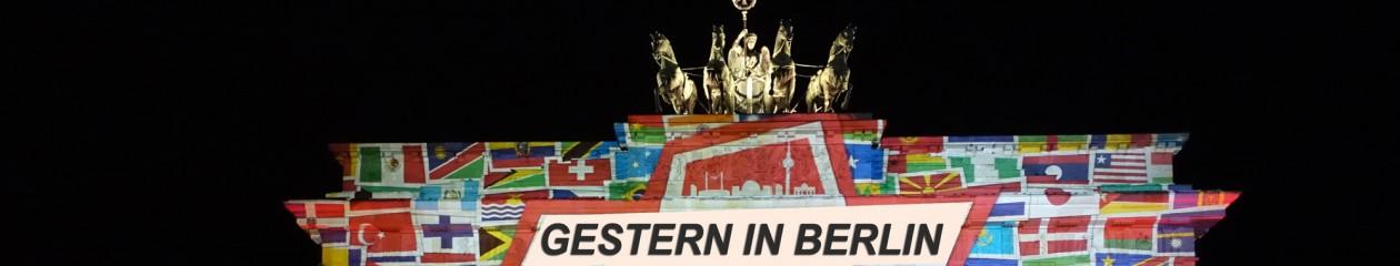 GESTERN IN BERLIN
